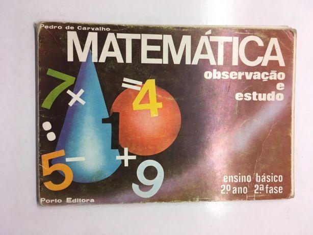 Caderno de Matemática (Observação e Estudo)