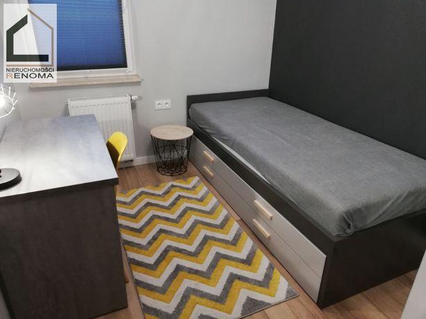 Pokój jednoosobowy w nowoczesnym i wyposażonym mieszkaniu. GRUNWALD