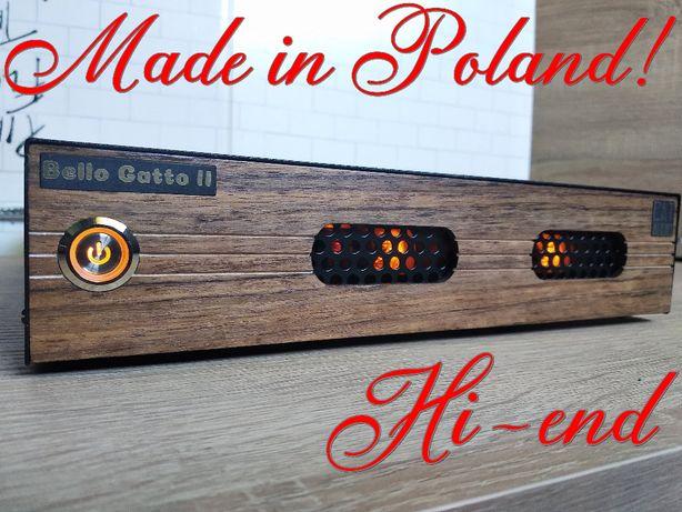 Lampowy przedwzmacniacz gramofonowy Hi-END MM Made in Poland
