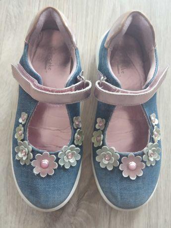 Buty dla dziewczynki na rzep, r. 30
