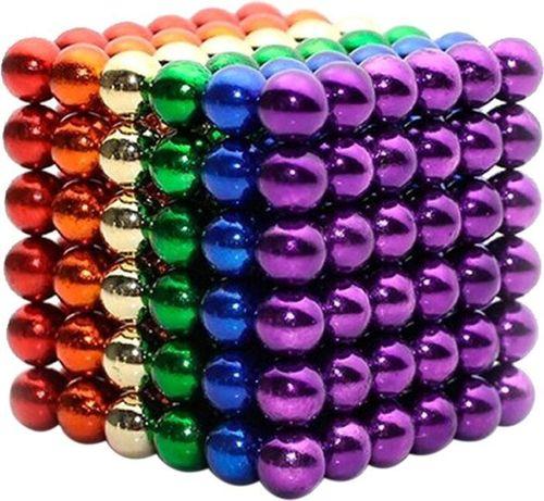 Магнитный конструктор-головоломка Neocube 216 шариков Разноцветный