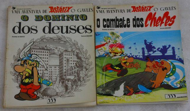 Livros de capa mole Astérix e Obélix