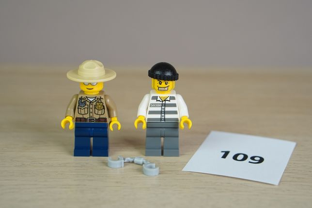 Lego #109 - System - City - Police - figurki z 4436 - 5zł/pakiet