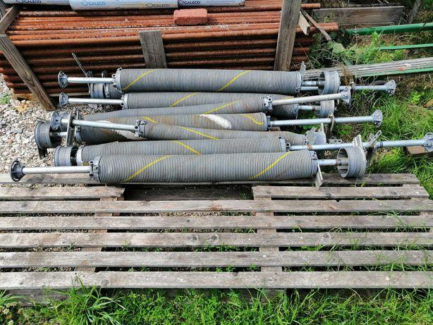 Sprężyny bramy segmentowej 4x4m hormann