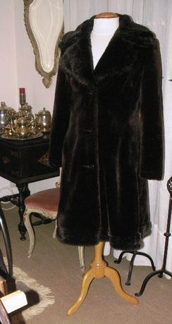 casaco de pele tipo vison