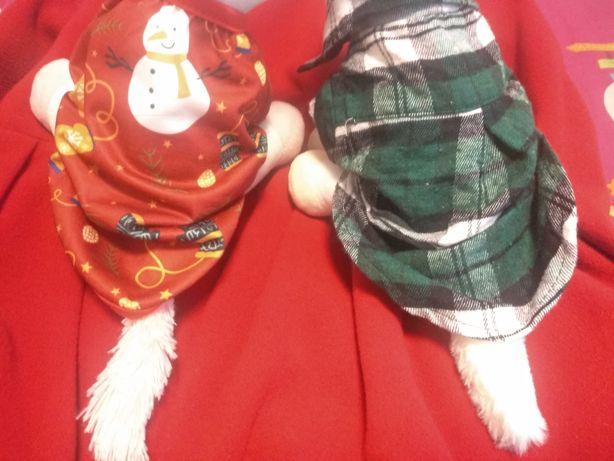Oferta Portes | Moda Pet Natal, lote 2 peças (xs) gato/cão pequeno