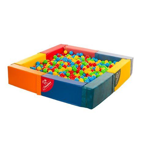 Сухой бассейн для детей. Детский бассейн с шариками Домино - Спортана