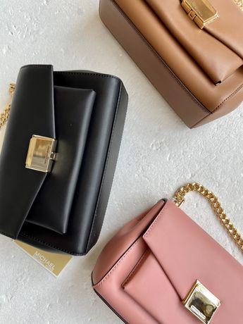 Продам сумки MICHAEL KORS Lita Medium Leather Crossbody Bag