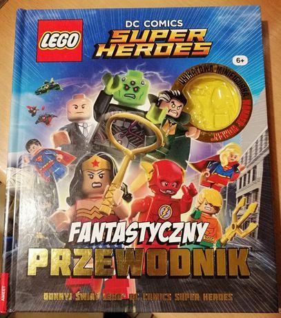 DC lego Fantastyczny przewodnik super heros bez figurki