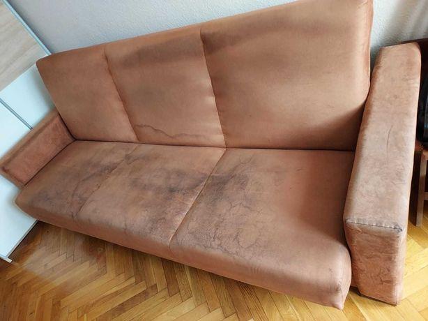 Wersalka do siedzenia dla 3 osób, do spania dla 2 osób