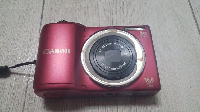 aparat cyfrowy Canon PowerShot A810 16 MPix jak nowy