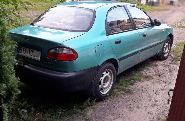 LANOS 1.5 16v LPG daewoo sedan 2 właściciel