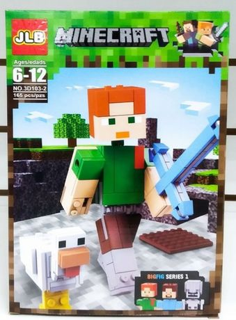 Minecraft klocki Big Figuren