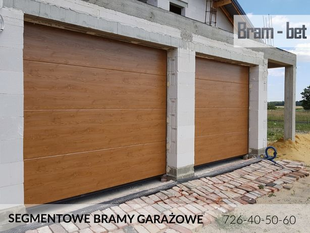 Bramy Garażowe Segmentowe - BYDGOSZCZ