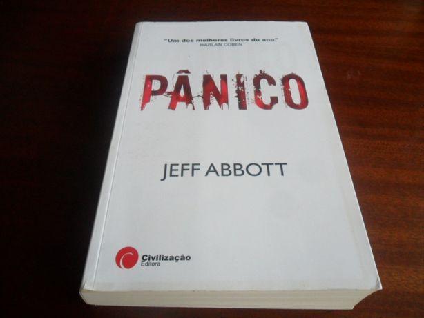 """Pânico"" de Jeff Abbott"