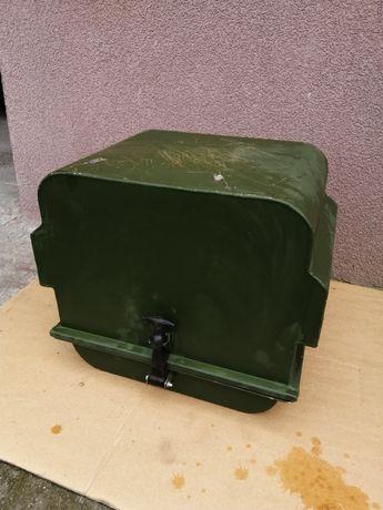 Skrzynia wojskowa metalowa na generator quad