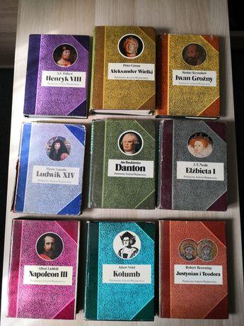 Biografie sławnych ludzi bsl zestaw Napoleon III Iwan Groźny Kolumb