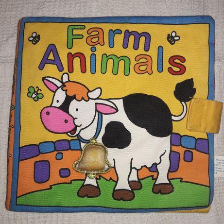 М'яка книжечка про тварин для малюків