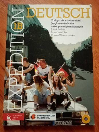 Deutsch, Expedition 1B. Podręcznik z ćwiczeniami J niemiecki.