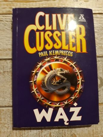 Wąż.  Clive Cussler