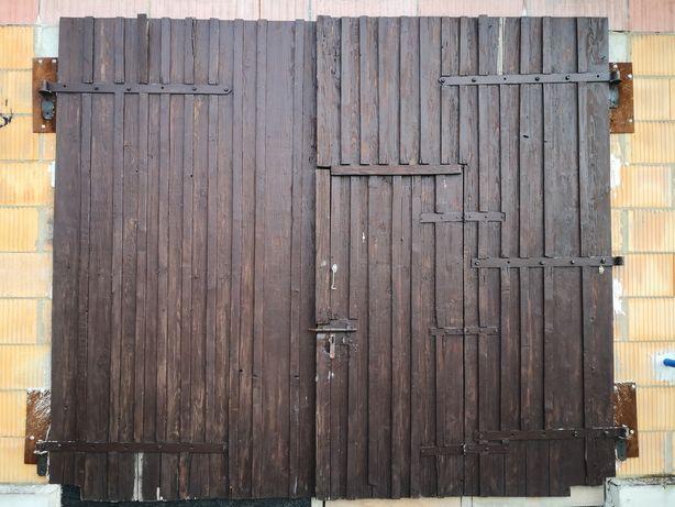 Brama garażowa na budowę lub do garażu