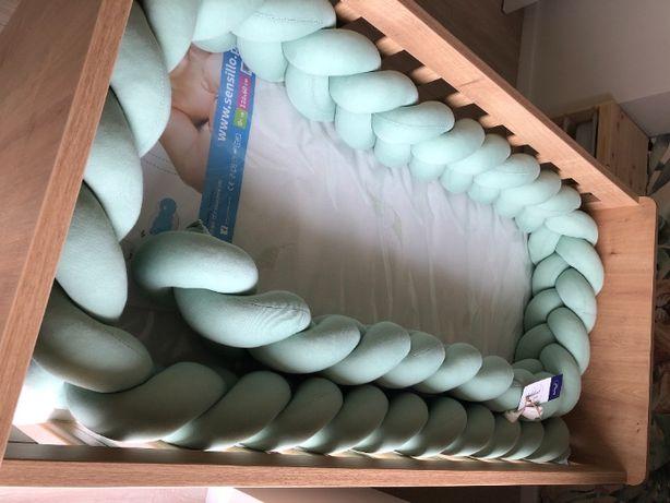Warkocz do łóżeczka, ochraniacz, NOWY, antyalergiczny, 400 cm