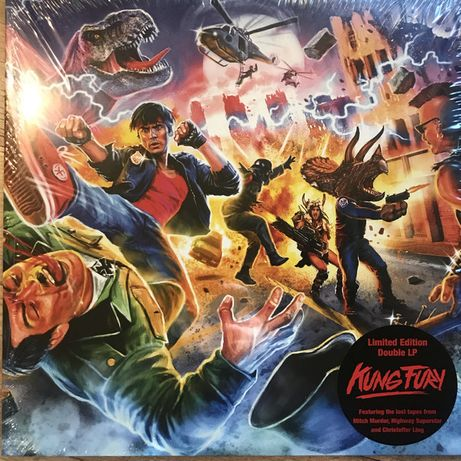 винил Kung Fury (Original Motion Picture Soundtrack) + The Lost Tapes