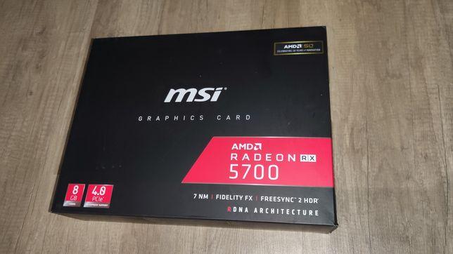 MSI radeon RX 5700 8GB GDDR6 GWARANCJA 2 lata
