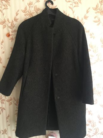 Пальто кокон