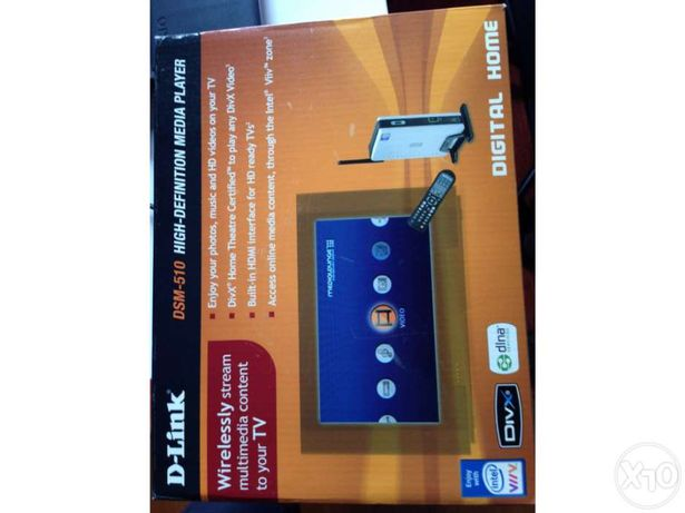 D-Link DSM-510 High Definition Media Player (Wireless)