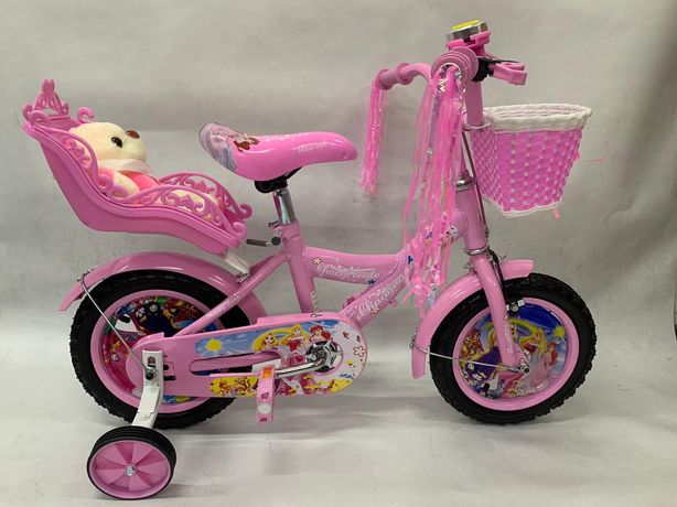 Rower rowerek 12 cali Princess plus mis gratis