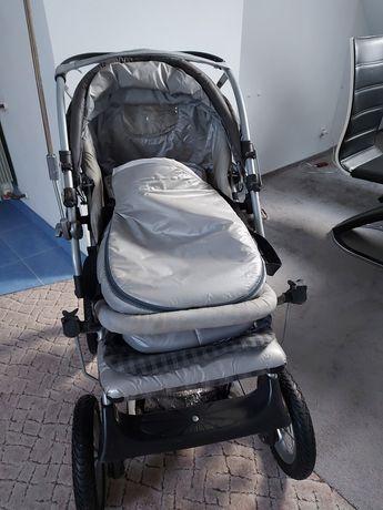 Wózek dziecięcy głęboki + spacerówka
