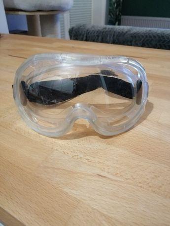 Gogle ASG, duże, na okulary
