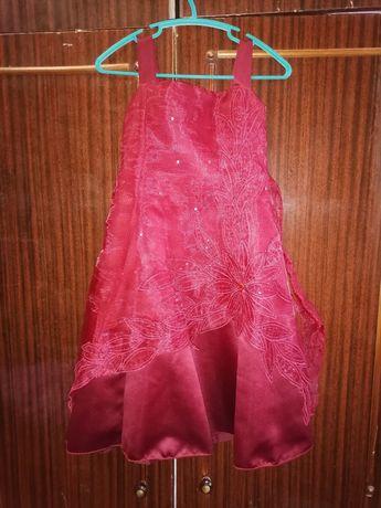 Плаття праздничное, платье нарядное, сукня святкова 4-6 лет