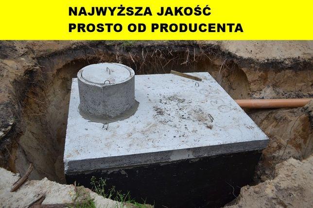 TANIE szczelne zbiorniki na ŚCIEKI szambo betonowe 2 szamba PPOŻ TORUŃ