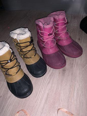 Crocs,зима, детские -j1