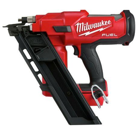 Milwaukee M18 FUEL 2744 2745 гвоздезабевател нейлер 90мм Dewalt Makita