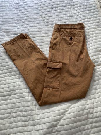 Spodnie bojówki męskie idealne Fishley& Harding, roz. 50