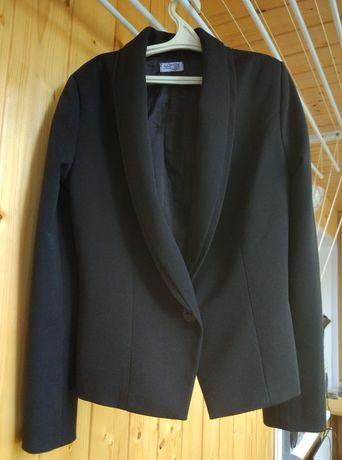 Пиджак черный для девочки 158 см