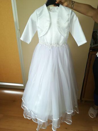 Sprzedam sukienkę komunijną +dodatki
