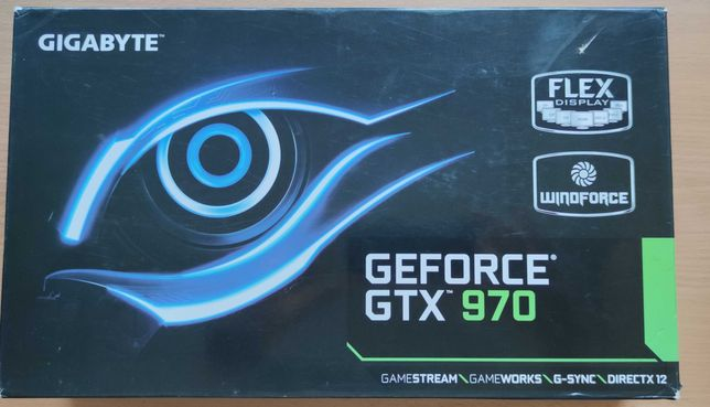 Karta graficzna Gigabyte Windforce Geforce GTX 970 4GB GDDR5 256bit