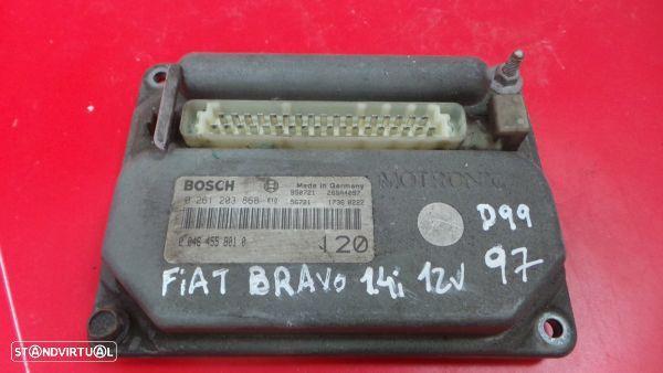 Centralina Do Motor   Ecu Fiat Bravo I (182_)