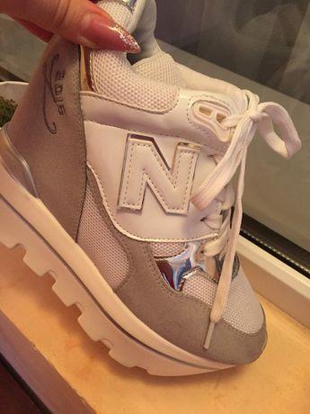 Кроссовки N женские кроссовки на танкетке осеннья спортивная обувь