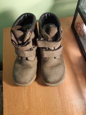 Черевики, черевички утеплені, натуральна замш 27 р
