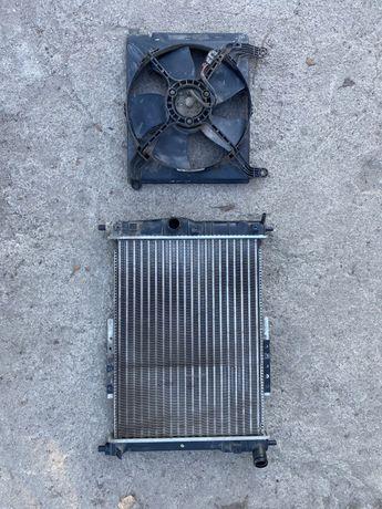 Радиатор Daewoo lanos