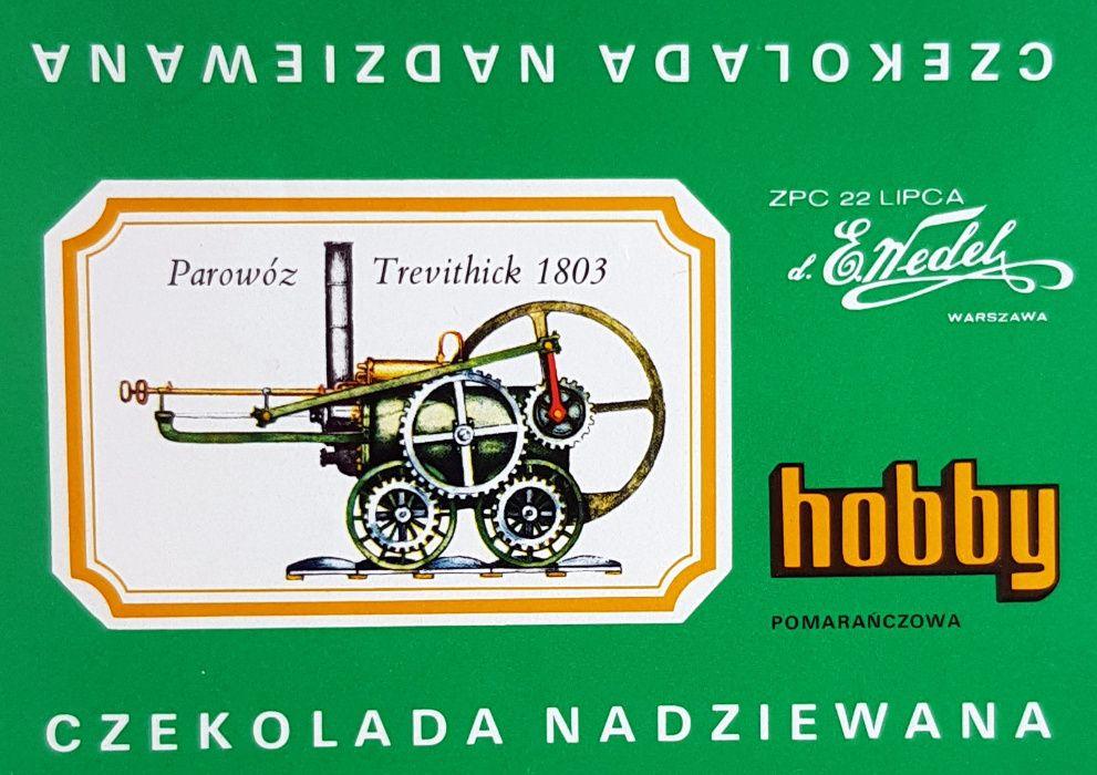 Hobby Wedel Opakowania czekolad - Seria E - Lokomotywy Warszawa - image 1