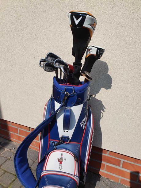 Zestaw golfowy prawie nowy