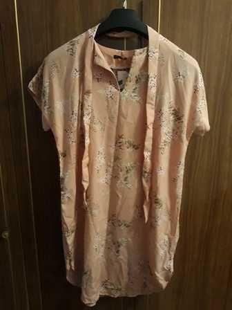 Свободное летнее платье  XL-XXL
