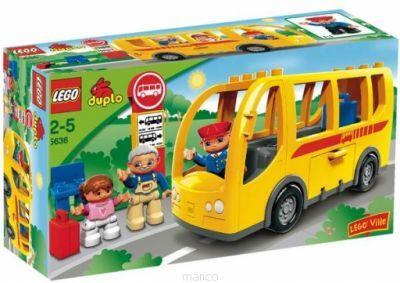 Lego Duplo 5636 - AUTOBUS Warszawa - image 1