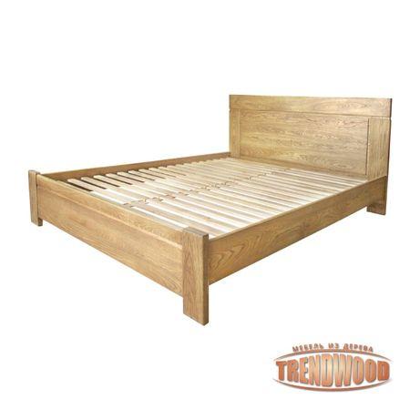 Кровать деревянная Ника (ольха массив, ДУБ щит или ДУБ массив).